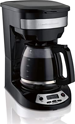 Hamilton Beach 46299 Programmable Coffee Maker, Black (Renewed)