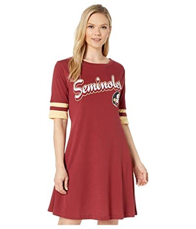 Champion College Florida State Seminoles Field Day Dress (Garnet/Vegas Gold) Women