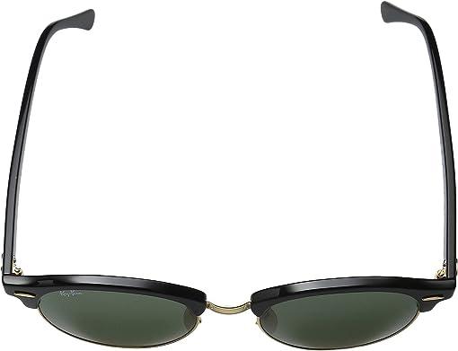 Black Frame/Green Lens