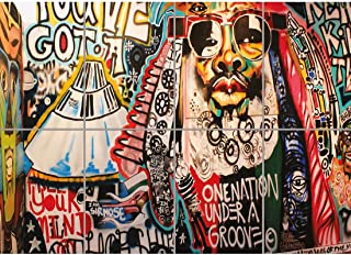 Doppelganger33LTD GRAFFITI STREET ART GEORGE CLINTON GIANT ART PRINT HOME DECOR NEW POSTER OZ1827