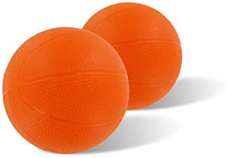 Botabee Toddler & Little Kids Replacement Basketball - for Little Tikes EasyScore (2 Count, Orange)