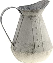 CWI Gifts Rustic Water Pitcher Vase, Multi