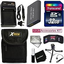 PRO 32GB Accessories KIT for SONY Cyber-Shot DSC-WX500, DSC-HX90V, DSC-WX350, DSC-WX300, DSC-HX50V, DSC-HX300 Includes 32G...