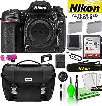 $953 » Nikon D7500 DSLR Digital Camera (Body Only) (1581) USA Model Deluxe Bundle -Includes- Sandisk 64GB SD Card + Nikon Gadget Bag + Spare EN-EL15 Battery + Camera Cleaning Kit + Much More