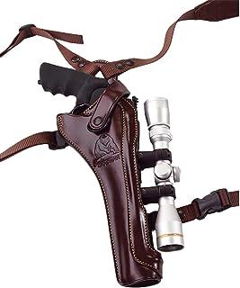 Image of Galco Kodiak Hunter Shoulder Holster S&W X Frame 500 Scope RH Havana KH172H