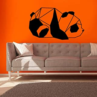 """Cute Panda Origami Wall Decals - Made in USA - 22"""" Premium Vinyl Wall Stickers - Wall Decor for Living Room, Bedroom, Kids Room, Bathroom, Teen Room, Kitchen - Comes in Tubus"""