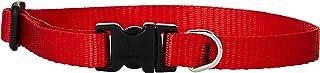 Lupine Dog Collar 10-16, Red, 1/2 inch
