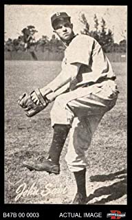 1947 Bond Bread # 38 Johnny Sain (Baseball Card) Dean's Cards 7 - NM