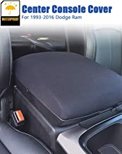 Ram 1500 Center Console Cover for Dodge Ram 2500 3500 Console Armrest cover, 1993-2016