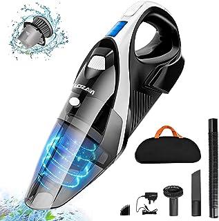 comprar comparacion Aspiradora de Mano, Aspirador de Mano Sin Cable, 9000PA, Aspiradora de Mano Sin Cable Potente, Luz LED, Batería de 2600mAh...