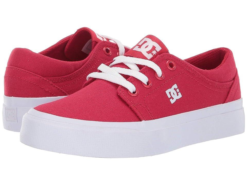 DC Kids Trase TX (Little Kid/Big Kid) (Red) Boys Shoes