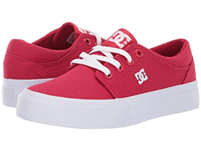 DC Kids Trase TX (Little Kid/Big Kid) (Red) Boys Shoes