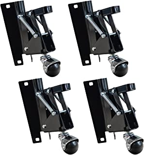 POWERTEC 17200 Retractable Caster Kit (4 Pack)