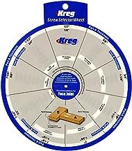 Best kreg jig screw chart Reviews
