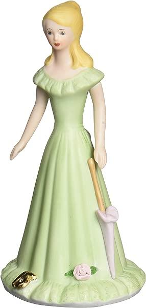 Enesco Growing Up Girls Blonde Age 15 Porcelain Figurine 6 75