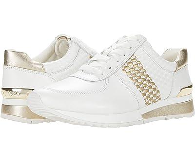 MICHAEL Michael Kors Allie Wrap Trainer (Optic/Pale Gold) Women