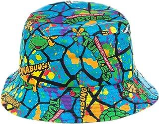 TMNT All Over Print Bucket Hat Cap New Teenage Mutant Ninja Turtles