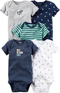 Carter's Baby Boys' Multi-pk Bodysuits 126g551