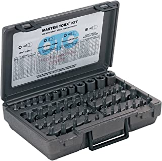 OTC 5900A-Plus 52 Piece Master Square Drive Torx Set