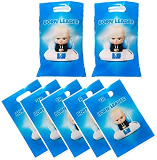 30 Packs Boss Baby Cute Party Gift Bags Boss Baby Gift Bags Party Supplies Birthday Decoration Gift Bags Well for Girls or...