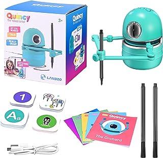 ETE ETMATE Robot Artist, Educational Robot Intelligent Learning Toy Suit USB Rechargeable Educational Smart Robot Toy Inte...