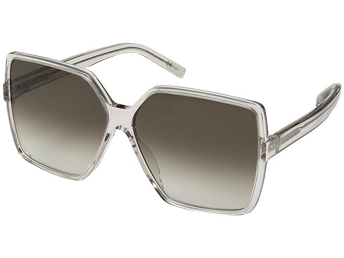 Saint Laurent SL 232 Betty (Shiny Transparent Powder) Fashion Sunglasses