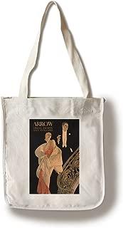 Arrow Dress Shirts and Collars Vintage Poster (Artist: Leyendecker, Joseph C.) USA c. 1925 (100% Cotton Tote Bag - Reusable)