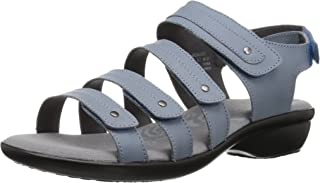 Propet Women's Aurora Sandal, denim, 9 4E US