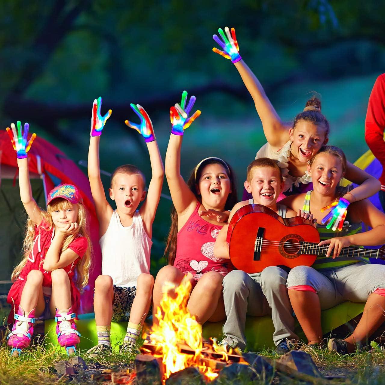 Giocattoli /& Regalo Teaisiy Guanti con LED Bambini