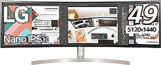 LG モニター ディスプレイ 49WL95C-W 49インチ/5120×1440(32:9 ウルトラワイド)/HDR対応/IPS/USB Type-C、DP、HDMI×2/スピーカー/高さ調節