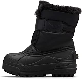 Childrens Snow Commander Black/Charcoal Synthetic Infant Snow Boots