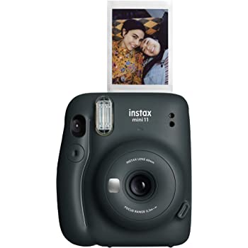 Fujifilm Instax Mini 11 Instant Camera (Charcoal Grey)