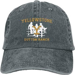 jkhhy Yellowstone Team Rip Hat Adjustable Baseball Cap Unisex Washable Cotton Trucker Cap Dad Hat