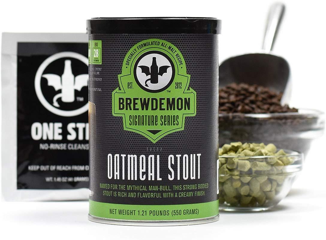 1 Gallon Shedu Oatmeal Stout Beer Refill Kit