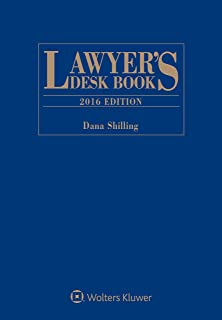 Lawyer's Desk Book: 2016 Edition