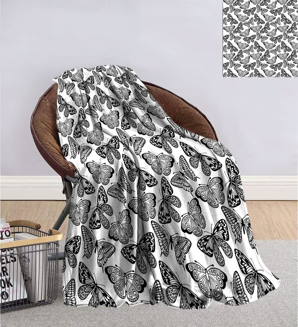 Black Special Campaign and White Blanket for Assor Monochrome Children shipfree Adults