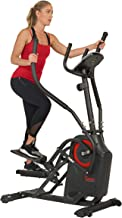 Sunny Health & Fitness Premium Cardio Climber Stepping Elliptical Machine - SF-E3919,Gray