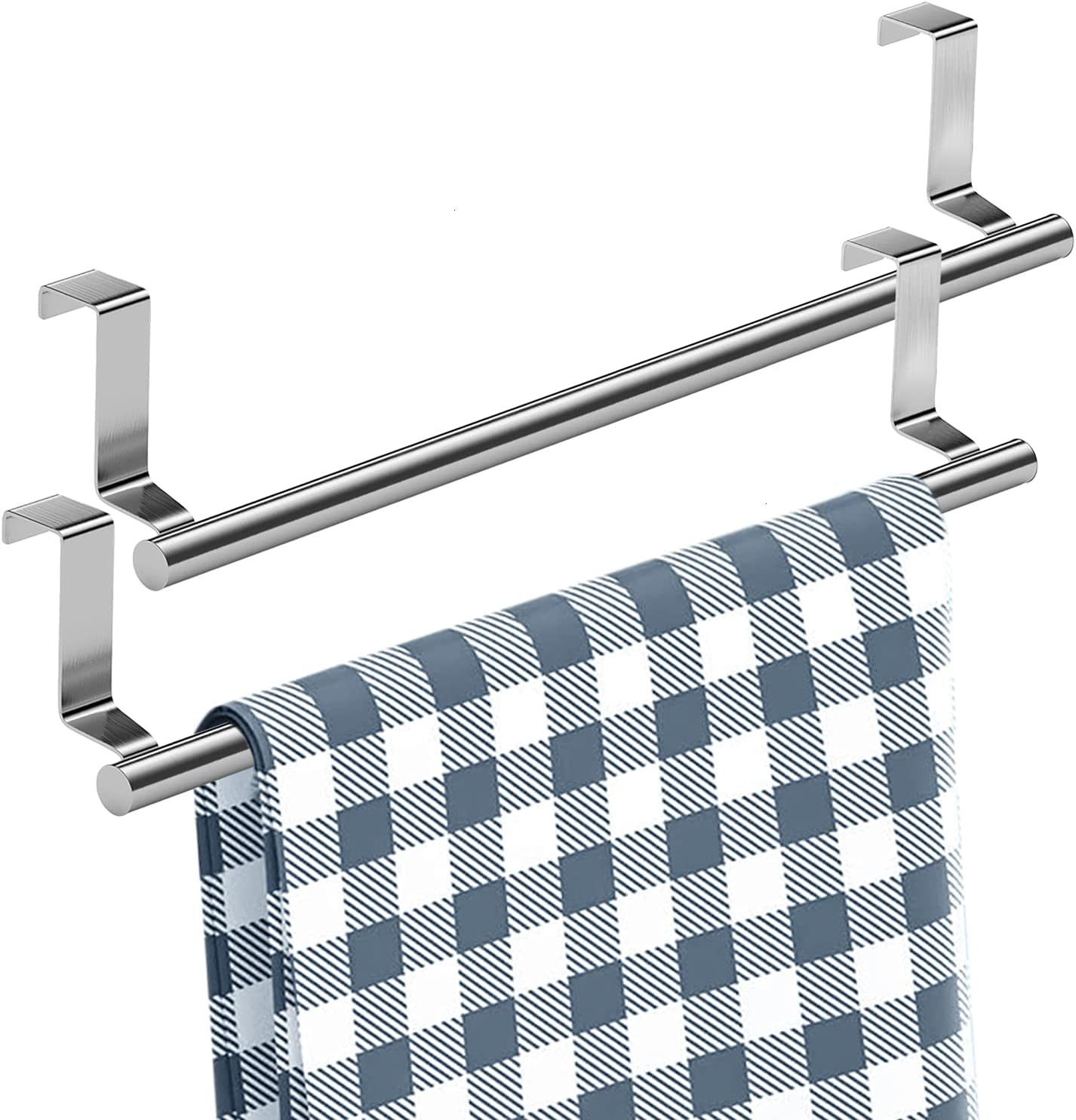 Mosuch Stainless Steel Over Cabinets Door Rack Boston Mall Towel 14