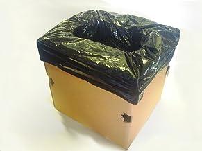 紙製ポータブルトイレ (緊急時用紙製トイレ 組み立て式)