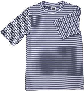 POPINJAY Boys & Girls Short Sleeve Swim Shirt Rash Guard SPF50 Toddler- Big Kids