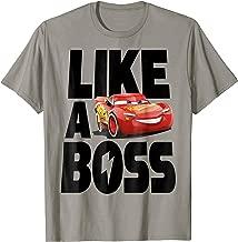 Disney Pixar Cars 3 McQueen Like A Boss Graphic T-Shirt