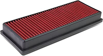 For Audi A4 / A5 / Q5 Quattro 2.0T Reusable & Washable Replacement High Flow Drop-in Air Filter (Red)