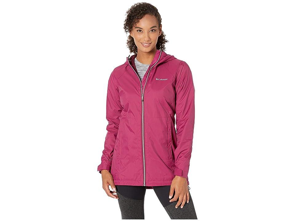Columbia Switchback Lined Long Jacket (Wine Berry/Deep Madeira) Women