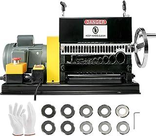 "BestEquip Wire Stripping Machine 0.06"" -1.5"",Automatic or Hand-crank Wire Stripper Machine 11Holes & 10 Blades, Automatic ..."