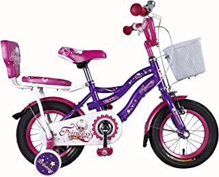 Vaux Princess Kids Bicycle for Girls (12T, Purple)