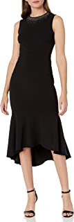 Calvin Klein Women's Flounce Hem Dress