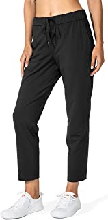 G Gradual Women's Pants with Deep Pockets 7/8 Stretch Sweatpants for Women Athletic, Golf, Lounge, Work