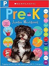 Pre-K Jumbo Workbook: Scholastic Early Learners (Jumbo Workbook)