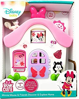 T EXCLUSIVE Disney Baby - MINNIE MOUSE & FRIENDS DISCOVER & EXPLORE HOME - Lights and Sound, Lively Music