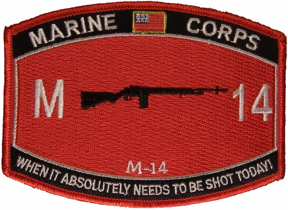 United States Marine Ranking TOP2 Corps Import M-14 When To Needs Absolutely Be It S